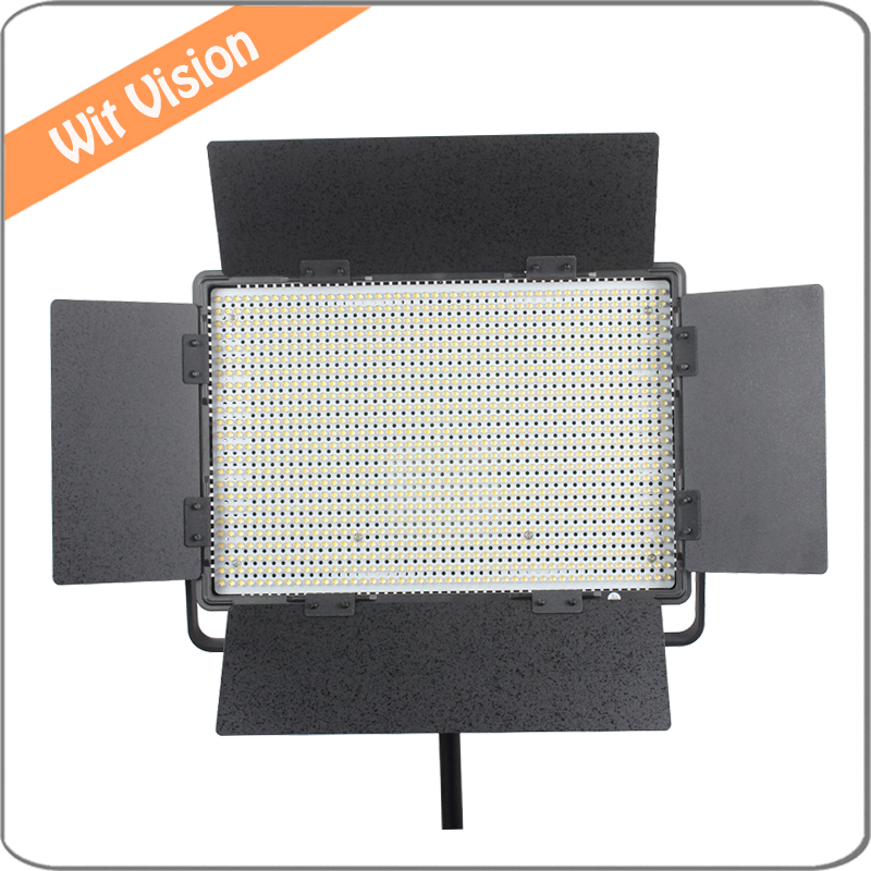 1200led 72W 2.4 G Wireless Control LED Studio Photographic Lighting with V Mount Battery Plate and Carry Bag