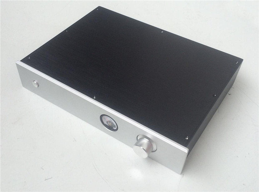 QUEENWAY BZ4308 hi-end CNC full performansi aluminij chassis HiFi box integrated case amp box 430mm*80mm*308mm 430*80*308mm