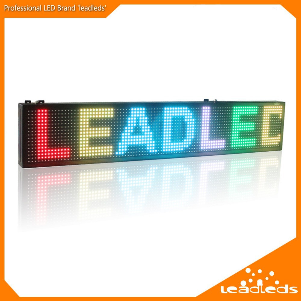 20 x6 inča HD SMD RGB Full Color USB Programmable Scrolling Message LED display Sign Board