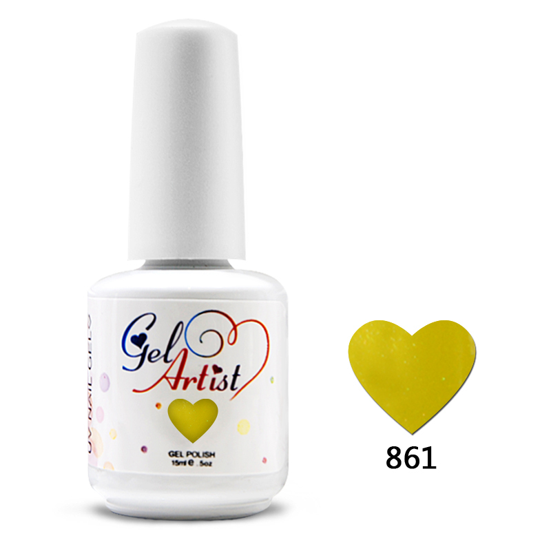 12шт DHL freee Gelartist gel-lak 15 ml 0.5 oz gel za nokte 610 boja gel-lac (12шт) UV-alati UV-lampa