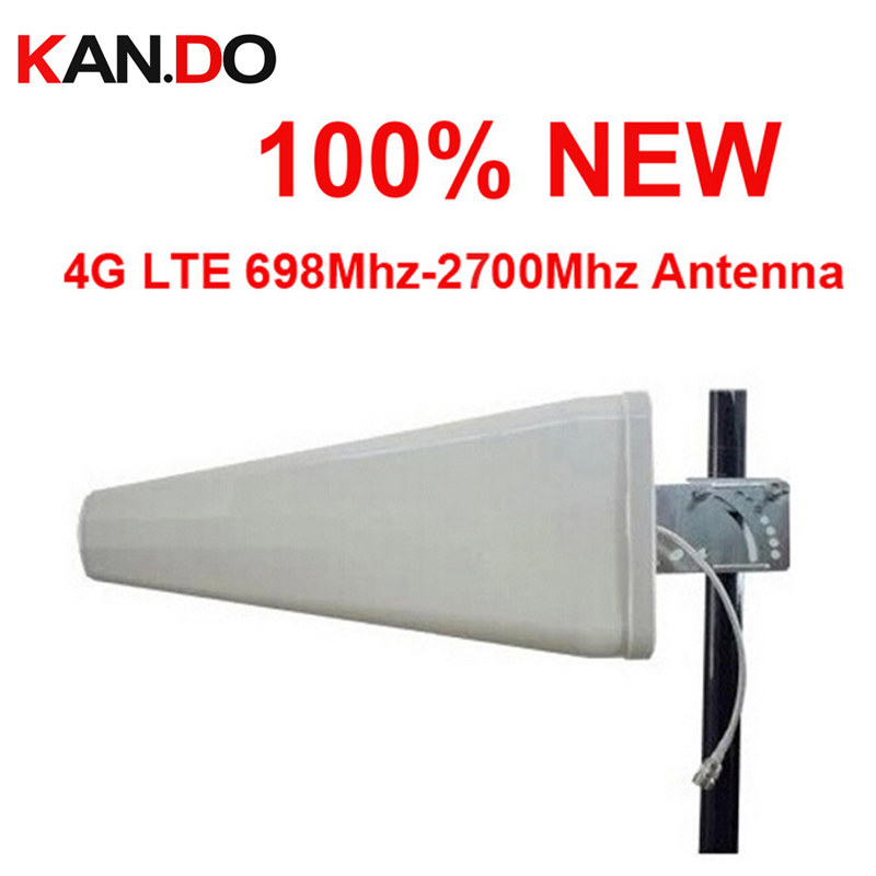 Za Rusiju nova antena 11dbi 4G 890-2700 Mhz LTE outdoor LDP panel antenna, WCDMA booster Directional antenna for 4G booster