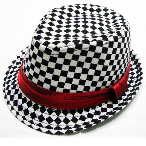 2018 One piece Pokrivač Boys fedora hat baby cap top hat