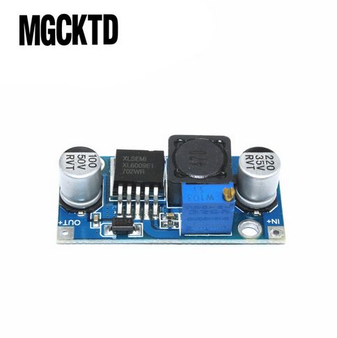100pc XL6009 DC-DC Booster module Power supply module output is adjustable Super LM2577 step-up module