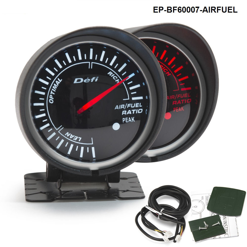 BF 60mm LED AIR/FUEL RATIO Gauge Highquality Auto Motor Car Gauge with Red & White Light For BMW e46 EP-BF60007-AIRFUEL