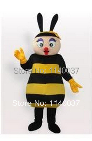 maskota slatka bee insect Mascot Costume Custom fancy costume anime cosplay kit Mascotte theme fancy dress карнавальный odijelo