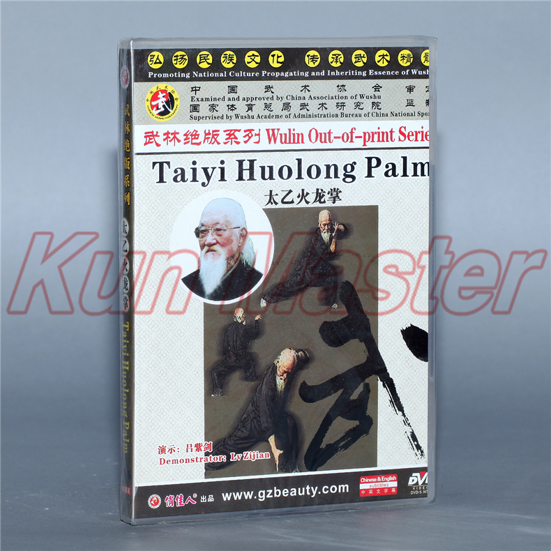 Taiyi Huolong Palm Chinese Kung Fu Teaching Video engleski titlovi 1 DVD