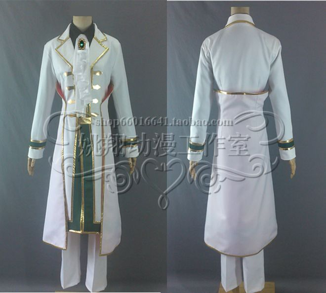 Japanska anime, hot Pandora Hearts cosplay Oz Vessalius cos Unisex Halloween party costume set (rotacija+kaput+košulja+kravata+hlače+rukavice)