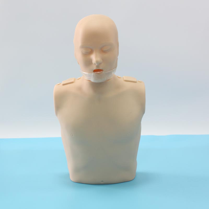 BIX/CPR100A Half-Electronic Body CPR Training Manikin WBW214