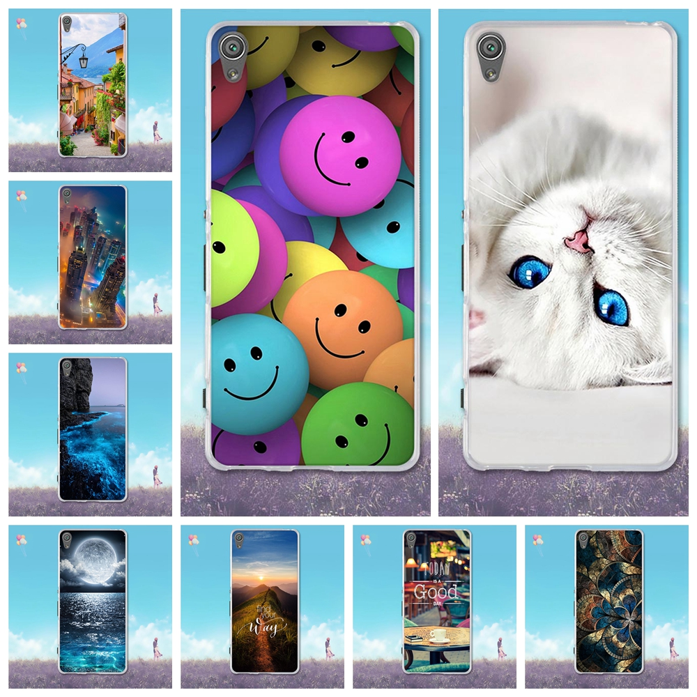 Torbica za Sony Xperia XA F3111 Cover 3D Painting Fundas For Sony XA Case Soft TPU Coque For Sony F3111 F3112 5.0 inčni sjedalo za telefone