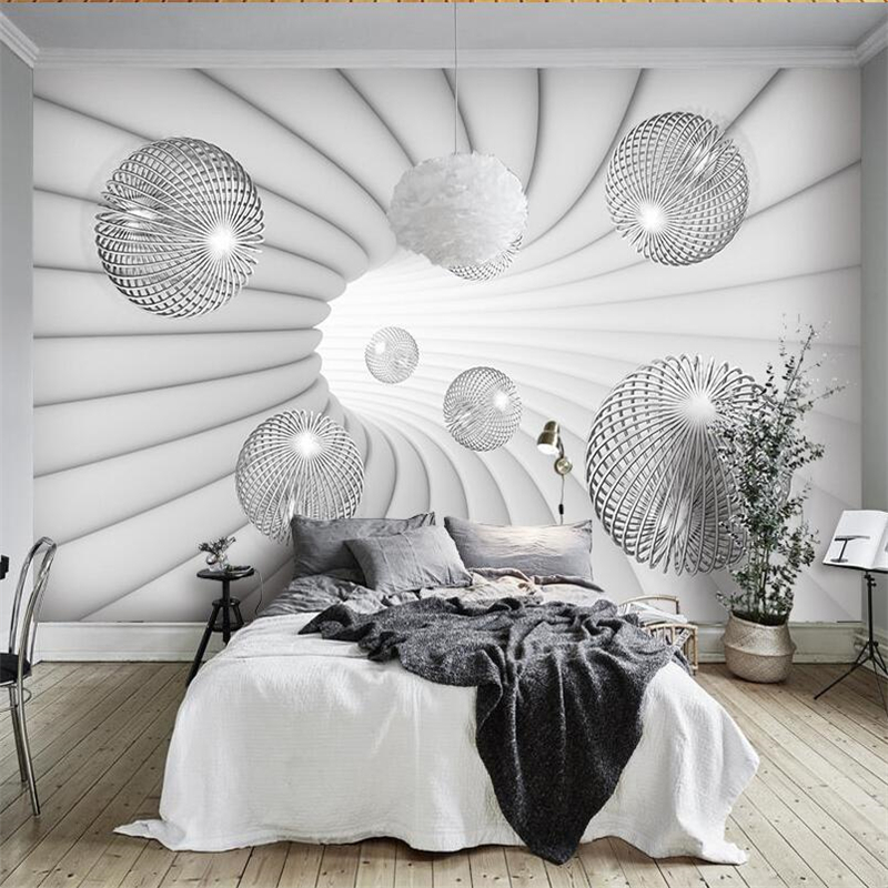 beibehang papel de parede Custom wallpaper 3D stereo ball wall decoration painting wallpaper for walls 3 d papier peint
