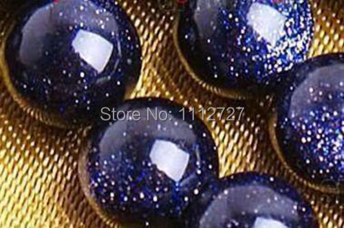 2017 fashion charming 10mm Galaxy Staras Blue Sand Sun Sitara Loose Beads Jewelry Natural Stone 15Bv144 veleprodajna cijena